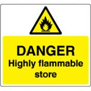 Warn152 - Danger Flammable